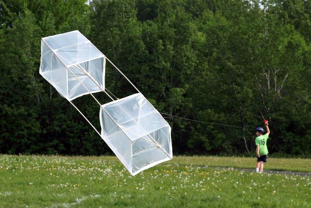 Homemade Box Kite | by RobMan170 Homemade Box Kite | by RobMan170