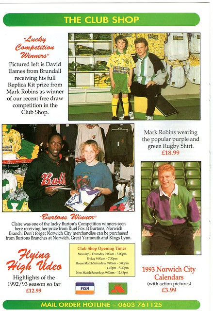 The Club Shop - January 1993
