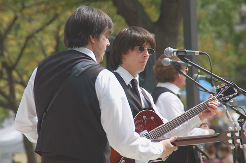 The Liverpool Lads perform at Lake Anna