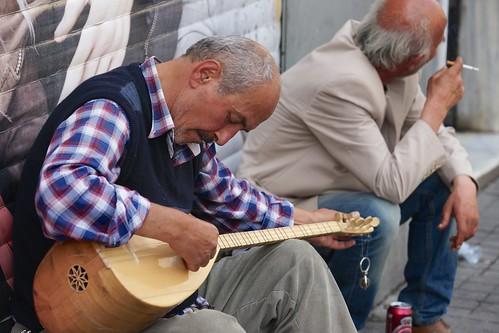 Tuning his Oud, Istanbul | by Joe Lewit