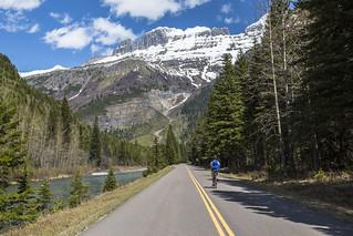 Biking Along McDonald Creek | by GlacierNPS