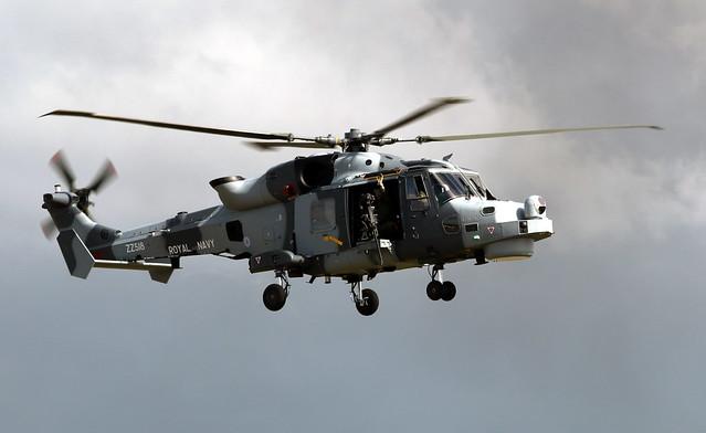 ZZ518 AgustaWestland Wildcat HMA.2, Royal Navy, RNAS Yeovilton, Somerset