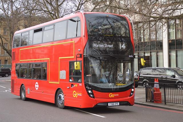 YY66 OYE (EH76) Go-Ahead London