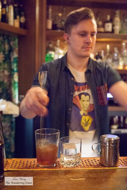 Stirring the old fashioned