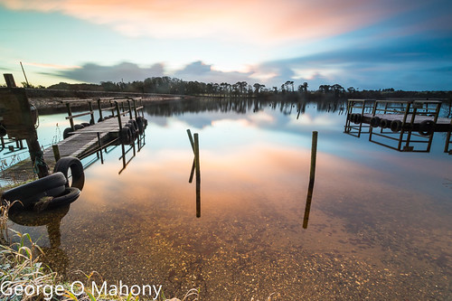 knockaderry countywaterford ireland iecountywaterford ie water reflections sunrise cloud lee filters