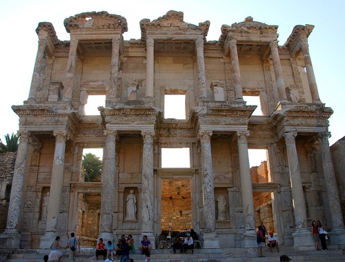 the library of celsus, ephesus | by hopemeng