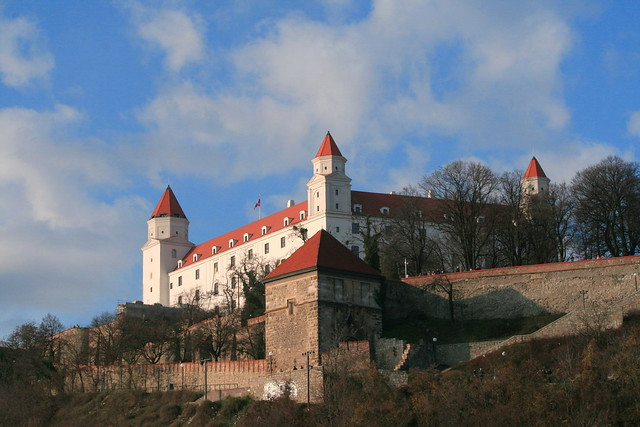 Bratislava Castle New Face, Slovakia nocrop