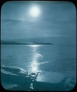 Moonlight, Shackleton - Rowett Expedition, Antarctica, 1921-1922 | by State Library of New South Wales collection