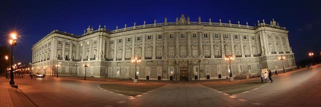 Palacio Real - Panorámica