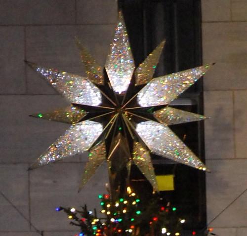 Rockefeller Center Christmas Tree Star The Star That Is Pl Flickr