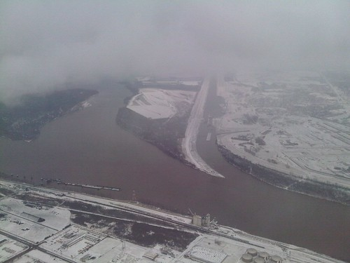 Landing in Snowy St Louis | by brettsnyder