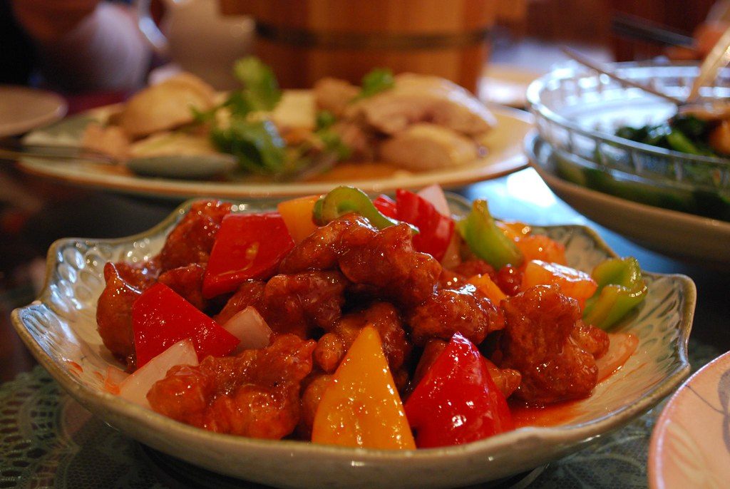 Sweet and Sour Pork will always be the food you're looking for at an Chinese restaurant. Source: Flickr