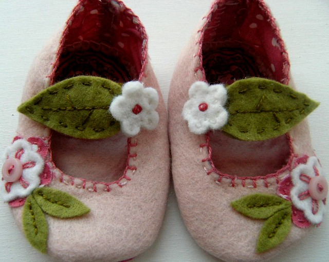 Pink Cherry Blosson Mary Janes3