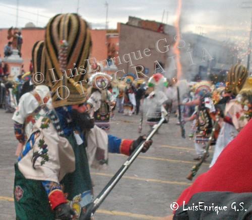 Carnaval de Huejotzingo Disparos