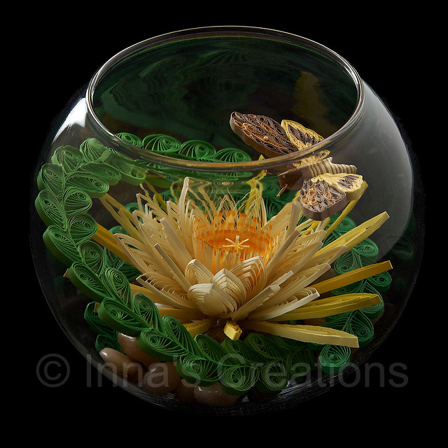 Quilling in a fishbowl