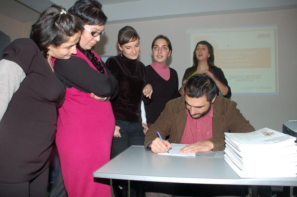 PR School - ველოდებით ჩვენს რიგს! 18.11.09