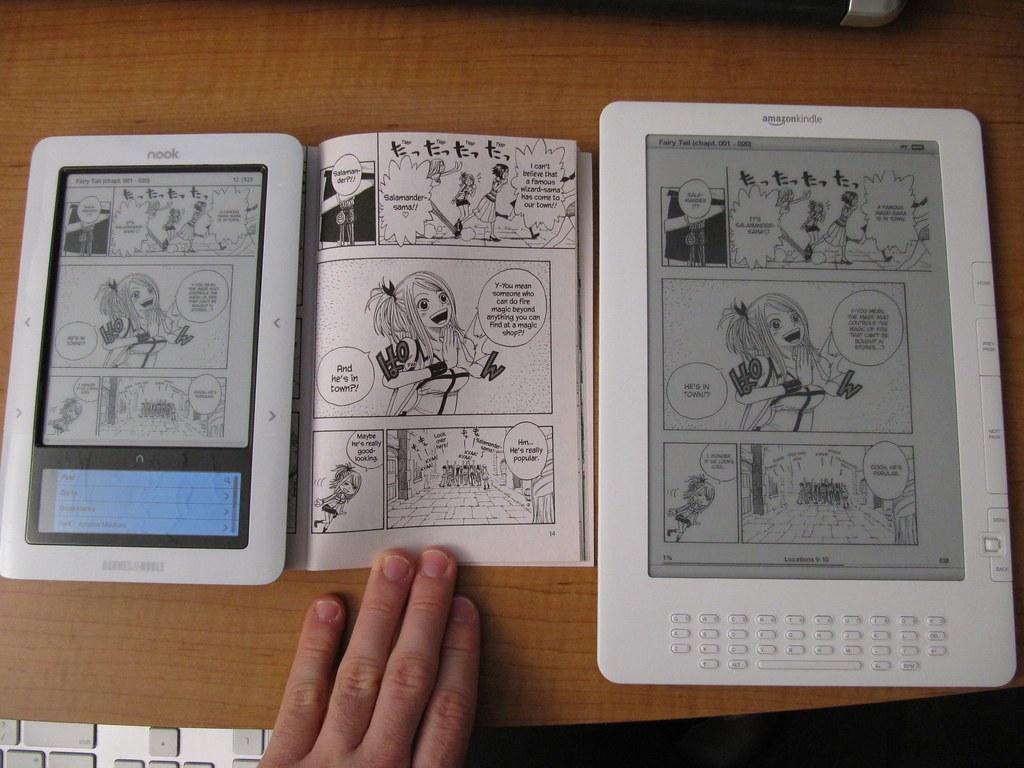 nook vs  paper vs  Kindle DX | UPDATE: check out my comparis