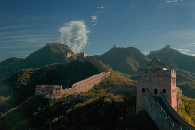 2291 The Great Wall of China--Hebei Province , China