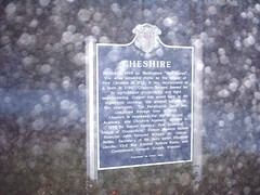 Connecticut Town History Sign