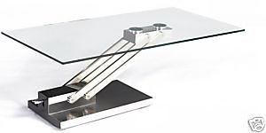 Kente Loft Arturo Adjustable Height Glass Coffee Table Flickr
