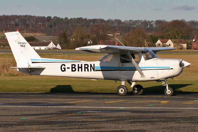 G-BHRN - 1980 Reims built Cessna 152, since exported to Hungary