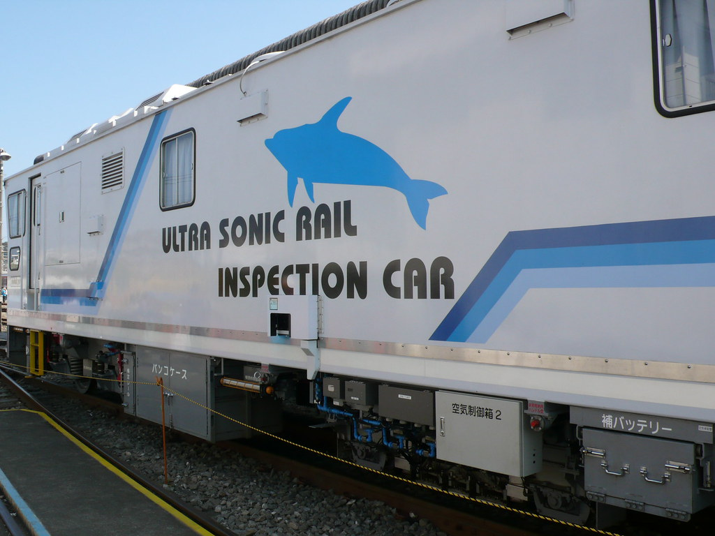 ultrasonic rail inspection car | Sadly not able to go inside