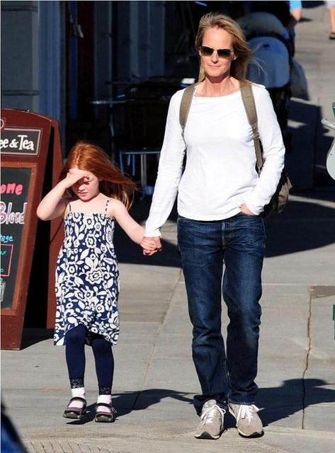 Helen Hunt And 5 Year Old Daughter Makena Lei Gordon Carna Flickr