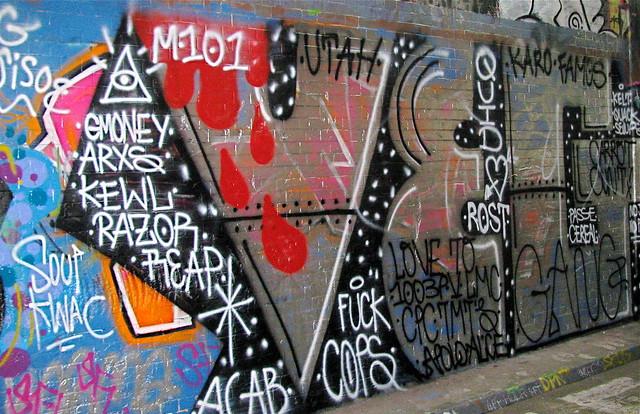 Graffiti Tunnel - London