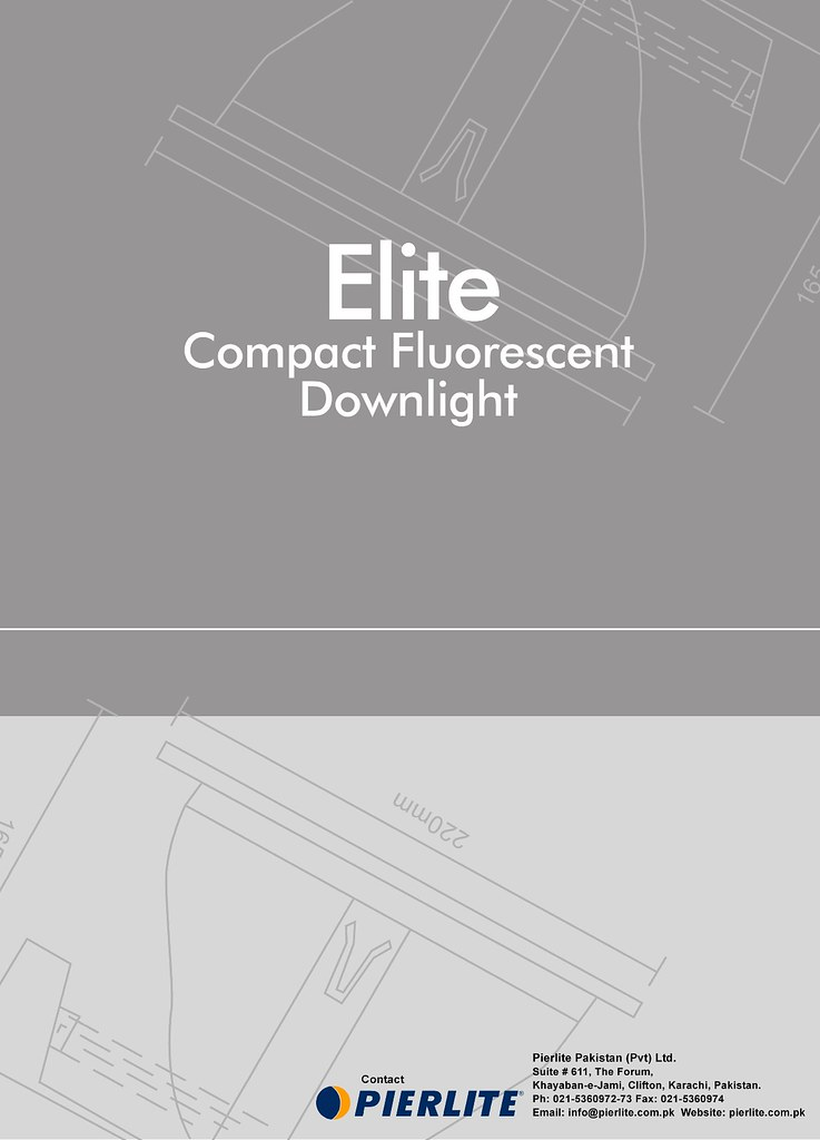 Pierlite - Elite Downlight Brochure | Ali Memon | Flickr