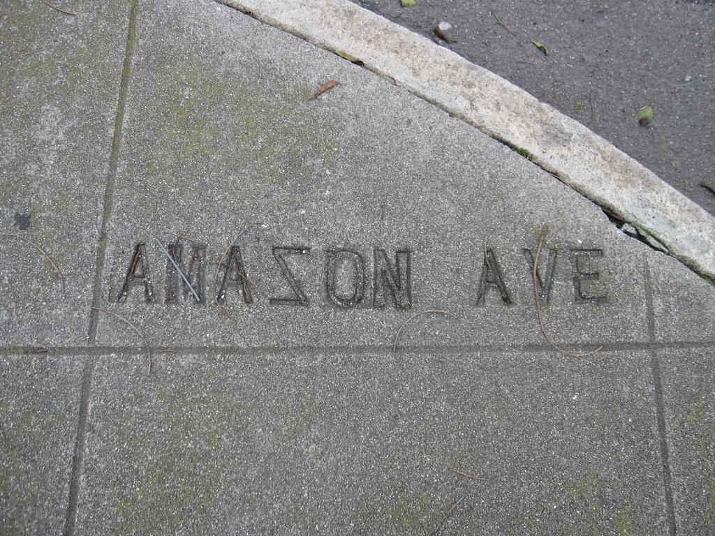 'Amason' (Amazon) Avenue and Paris Street