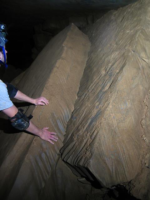 Limestone Drip Erosion, Blue Spring Cave, White Co, TN