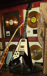 Jimi Hendrix's Flying V Gibson Guitar | by Mike Cattell