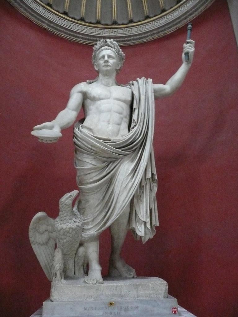 Estatua del Emperador Claudio. Sala Redonda. Museo Pío-Cle