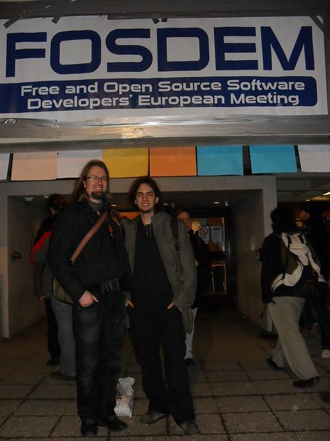 FOSDEM - GNOME Seahorse developers