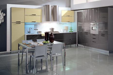 Aiazzone Cucine Componibili.Cucina Aiazzone Vitra Cucina Moderna Componibile Con Ante