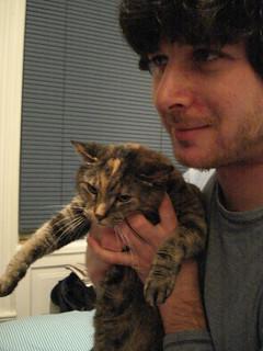 Lexie looking peeved