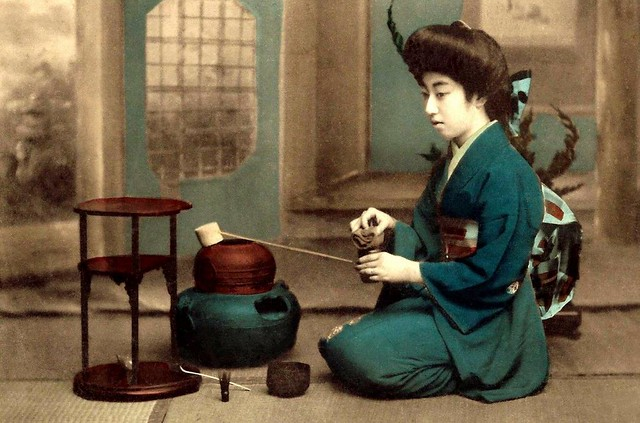 bae2ff76651 ... TERUHA with Implements of Making Tea