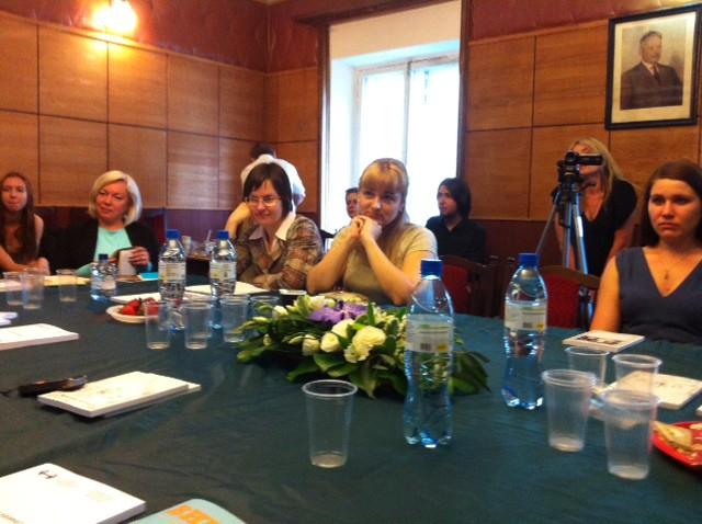 Июн 9 2014 - 18:38 - Русскоязычные писатели Финляндии в Литинституте