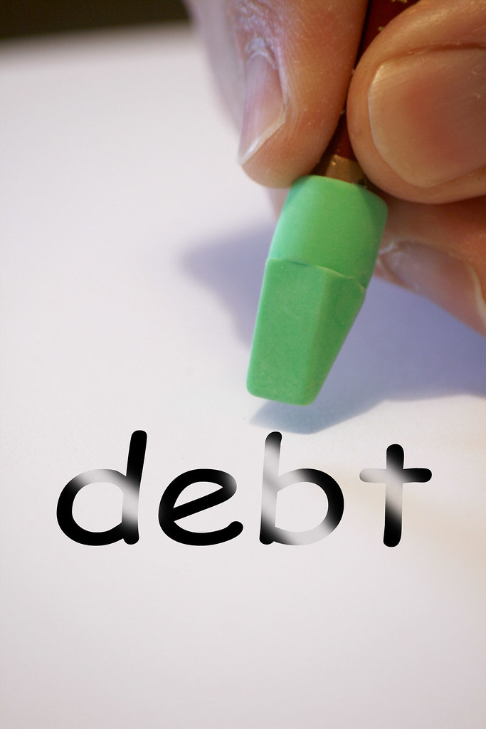 debt | Time to wipe out your debts. This picture free to use… | Flickr