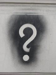Question mark   by konradfoerstner