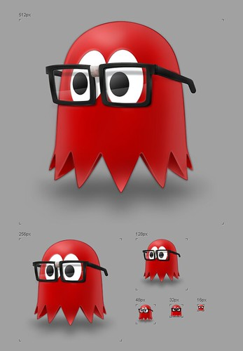 Blinky 'The Nerd' - Application Icon v2 | by Mucx