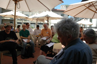 Garden Conversation with Jack Goody - The Second International Conference on New Directions in the Humanities, 2004