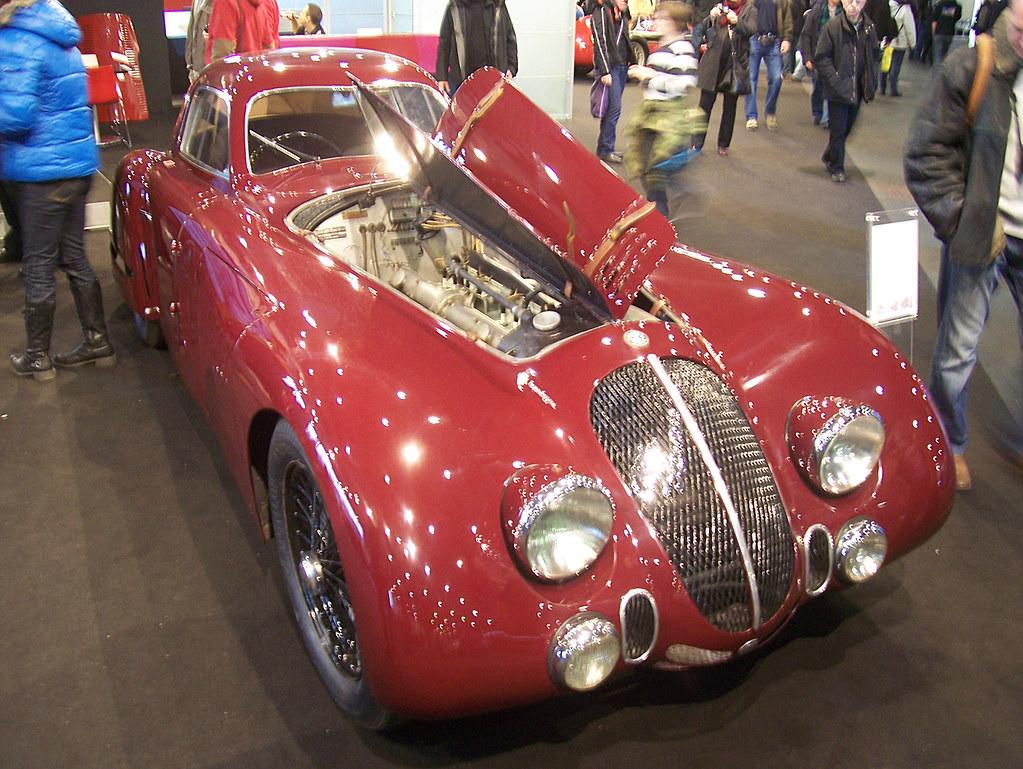 Alfa Romeo 8c 2900b Le Mans Speciale  Touring  1938