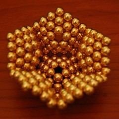Dodecahedron, inverted pyramid faces, assembly | by sparr0