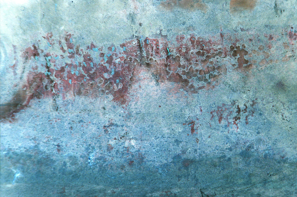 Copper Oxide, Oxidised Copper Metal Texture (Inverted) | Flickr