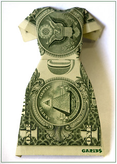 Money Origami Dress - Folding Instructions with Photos & Video ...   319x228
