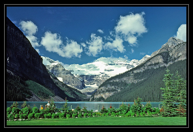 Lake Louise in Banff National Park - 1979