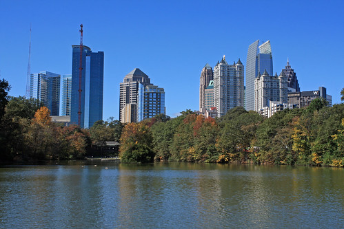 midtown atlanta, from piedmont park, fulton county, georgia 1 | by Alan Cressler