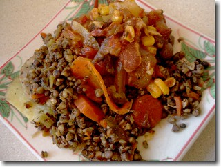 Buckwheat and Stewed Tomatoes   by Baha'i Views / Flitzy Phoebie