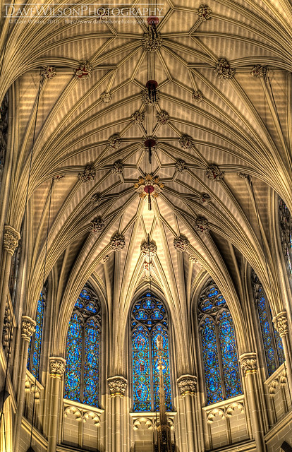 Roof & Stained Glass, St. Patrick's Cathedral, New York